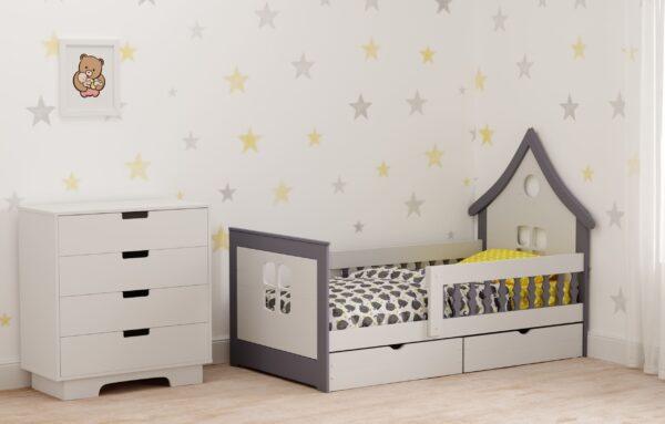 Кровать Теремок-1